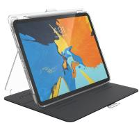 "Speck Balance Folio Clear - Etui iPad Pro 11"" w/Magnet & Stand up z ładowaniem Apple Pencil (Clear/Black)"