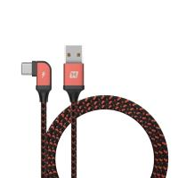 Momax Go link - Kabel gamingowy USB-C na USB 1.2 m (Orange)