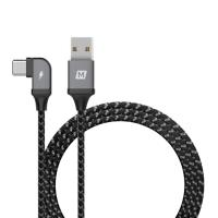 Momax Go link - Kabel gamingowy USB-C do USB 1.2 m (Space Gray)
