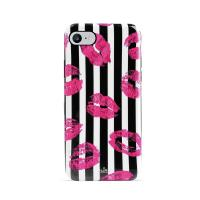 PURO Glam Miami Stripes - Etui iPhone 8 / 7 / 6s / 6 (Kiss)