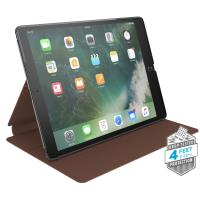 "Speck Balance Folio Leather - Etui skórzane iPad 9.7"" (2018/2017) / iPad Pro 9.7"" / iPad Air 2 / iPad Air w/Magnet & Stand up (Walnut Brown)"