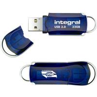 Integral Courier USB 3.0 Flash Drive - Pendrive USB 3.0 32 GB 140/22 MB/s