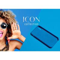PURO ICON Cover - Etui iPhone 8 / 7 / 6s / 6 (Blue Formentera) Limited edition
