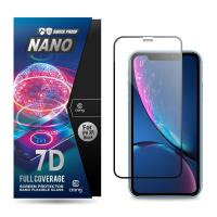 Crong 7D Nano Flexible Glass - Szkło hybrydowe 9H na cały ekran iPhone 11 / iPhone XR