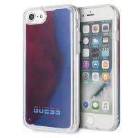 Guess California - Etui iPhone 8 / 7 (Glow in the Dark Sand/Red)