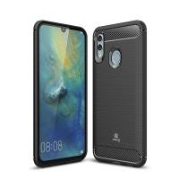 Crong Soft Armour Cover - Etui Huawei P Smart (2019) (czarny)