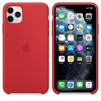 Apple Silicone Case - Silikonowe etui iPhone 11 Pro Max (czerwony) (PRODUCT)RED