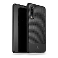 Crong Prestige Carbon Cover - Etui Huawei P30 (czarny)