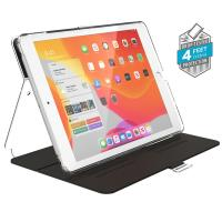 "Speck Balance Folio Clear - Etui iPad 10.2"" w/Magnet & Stand up (Black/Clear)"