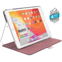 "Speck Balance Folio Clear - Etui iPad 10.2"" w/Magnet & Stand up (Rose Gold Woven Metallic/Clear)"