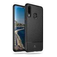 Crong Prestige Carbon Cover - Etui Huawei P30 Lite (czarny)