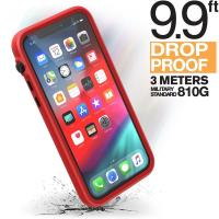 Catalyst Impact Protection Case - Pancerne etui + smyczka iPhone 11 Pro (Red/Black)