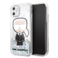 Karl Lagerfeld Glitter Iridescent Iconic - Etui iPhone 11
