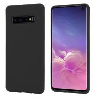 Crong Color Cover - Etui Samsung Galaxy S10 (czarny)