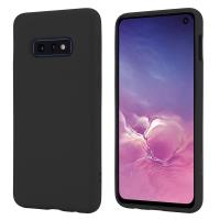 Crong Color Cover - Etui Samsung Galaxy S10e (czarny)