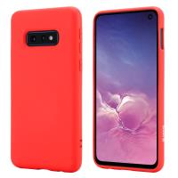 Crong Color Cover - Etui Samsung Galaxy S10e (czerwony)