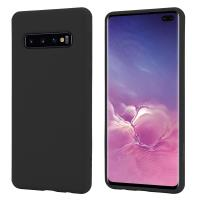 Crong Color Cover - Etui Samsung Galaxy S10+ (czarny)