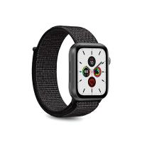 PURO Nylon - Pasek do Apple Watch 38 / 40 mm (Czarny)