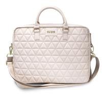 "Guess Quilted Computer Bag - Torba na notebooka 15"" (różowy)"
