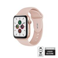 Crong Liquid Band - Pasek Apple Watch 38/40 mm (piaskowy róż)