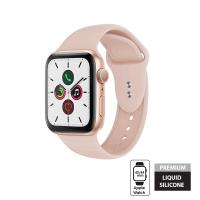 Crong Liquid Band - Pasek Apple Watch 42/44 mm (piaskowy róż)