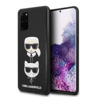 Karl Lagerfeld Embossed Case Karl & Choupette - Etui Samsung Galaxy S20+