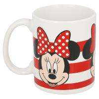 Minnie Mouse - Kubek ceramiczny 325 ml (Stripes)