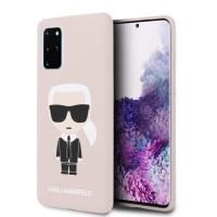 Karl Lagerfeld Fullbody Silicone Iconic - Etui Samsung Galaxy S20+ (Pink)