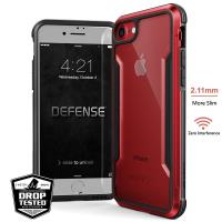 X-Doria Defense Shield - Etui aluminiowe iPhone SE 2020 / 8 / 7 (Red)