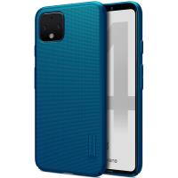 Nillkin Super Frosted Shield - Etui Google Pixel 4 (Peacock Blue)