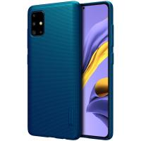 Nillkin Super Frosted Shield - Etui Samsung Galaxy A51 (Peacock Blue)