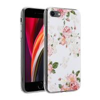 Crong Flower Case – Etui iPhone SE 2020 / 8 / 7 (wzór 02)