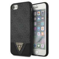 Guess 4G Triangle Collection - Etui iPhone SE / 8 / 7 (szary)