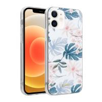 Crong Flower Case - Etui iPhone 12 / iPhone 12 Pro (wzór 01)