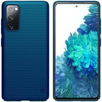 Nillkin Super Frosted Shield - Etui Samsung Galaxy S20 FE (Peacock Blue)